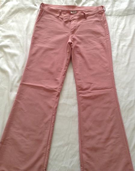 Pantalón De Vestir De Dama Color Guayaba Talla Xl Usado