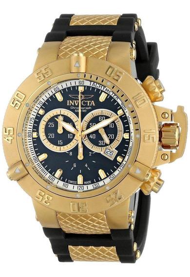 Relógio Wm2201 Invicta 5514 Subaqua Noma 3 Preto