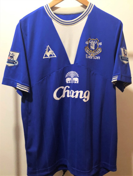 Camisa Do Everton 2009/10 Heitinga #5 Premier League De Jogo