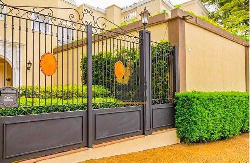 Belíssima Casa Assobradada No Jardim Petrópolis, Brooklin, Casa Em Condomínio De Alto Luxo Com 400 M² - Ca13300