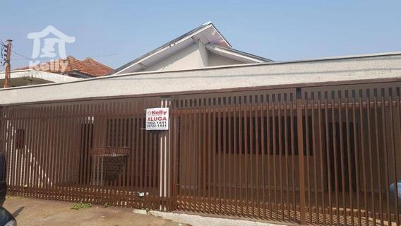Casa Para Alugar, 150 M² Por R$ 1.300/mês - Vila Do Estádio - Presidente Prudente/sp - Ca0817