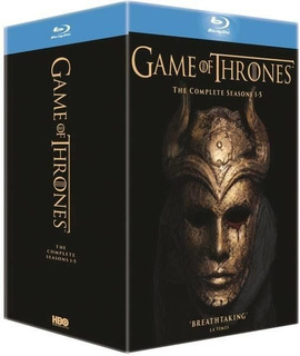 Game Of Thrones. Temporada 1 A 5 Bluray