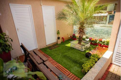 Sobrado Com 3 Dormitórios À Venda, 127 M² Por R$ 478.000,00 - Vila Pires - Santo André/sp - So0588