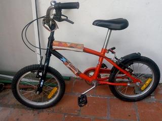 Bicicleta Rodado 14 Para Para Niñx