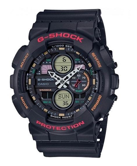 Relógio Casio Masculino G-shock Anadigi Ga-140-1a4dr