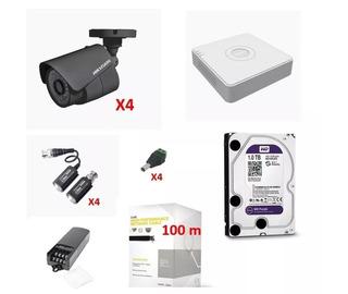 Sistema Turbohd 1080p / Kit Completo Videovigilancia 4 Camar