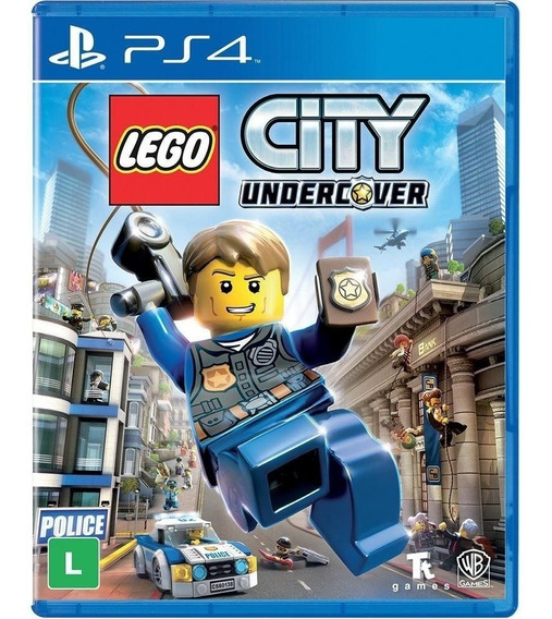 Lego City Undercover Ps4 Leg. Português Midia Fisica Lacrado