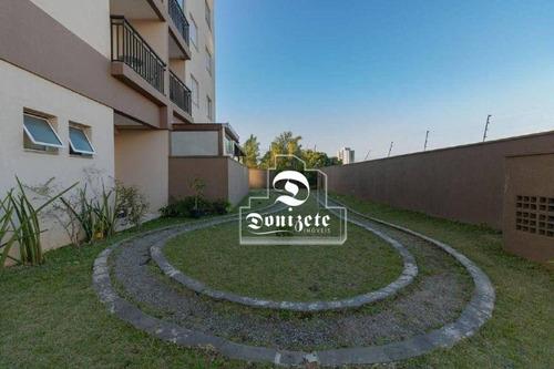 Imagem 1 de 16 de Apartamento Com 2 Dormitórios À Venda, 50 M² Por R$ 310.000,00 - Vila Eldízia - Santo André/sp - Ap17408