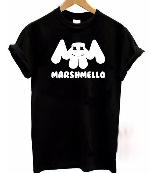 Playera Marshmello Dj Moda Unisex Envio Gratis | Promo 4x5