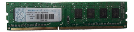 Memoria Ddr3 Novatech 2gb 1333mhz Pc3-10600 8 Chips 12