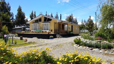 Parcela De Agrado Con Casa En La Vara Puerto Montt