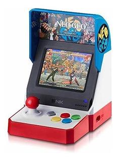 Neogeo Mini Console Versión Roja, Blanca Y Azul Usa
