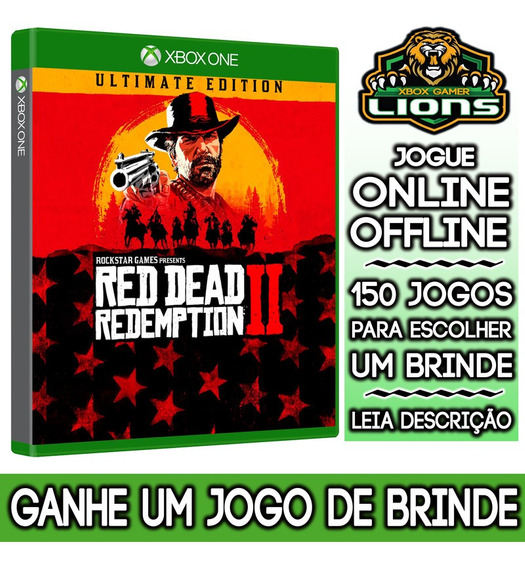 Red Dead Redemption 2 Ultimate Edition Xbox One + Brinde