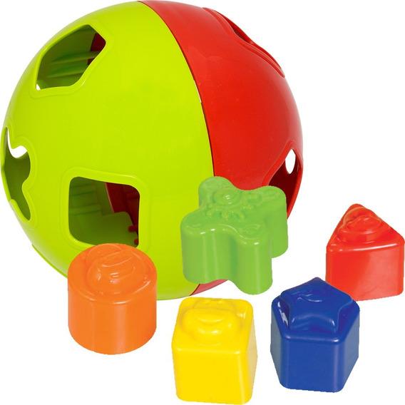 Brinquedo Educativo Encaixe Bebê Bola Didática Baby Ball