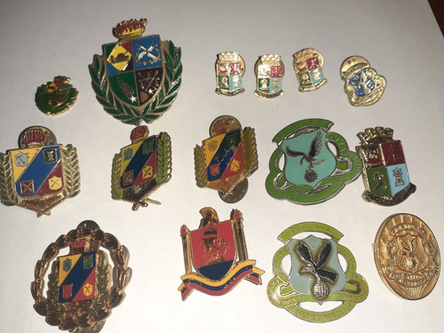 Insignias Antiguas Academias Militares Venezolanas