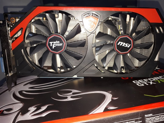 Placa De Video Geforce Gtx 760 2gb - Usado Com Defeito