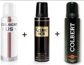 3 Unidades Desodorantes Colbert 250ml Cada