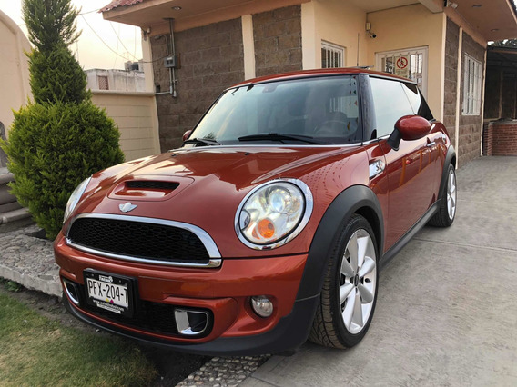 Mini Cooper 1.6 S Chili Aa Tela/piel Qc At 2012