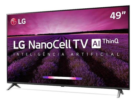 Smart Tv Lg 49 Nano Cell Uhd 4k Controle Smart Magic 49sm8000psa