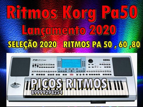 Ritimos Korg Korg Pa50, Pa60, Pa80, Pa800, Lançamento 2019
