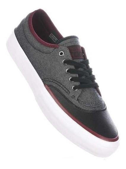 Zapatillas Converse Mod Crimson Ox Negro Rojo Impermeables!!