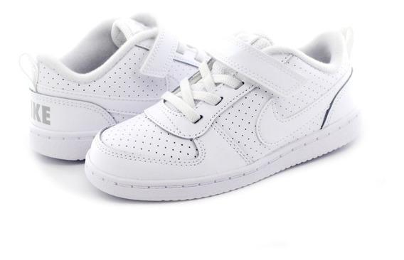 Tenis Nike Bebe Court Borough Casual Comodo Ligero Original