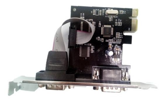 Tarjeta Pci-e Express 2 Puertos Serial Impresora Rs232 Db9
