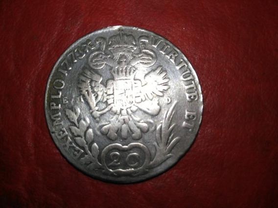 Antigua Moneda De * Austria * Plata - 20 Kreutzer - Año 1773