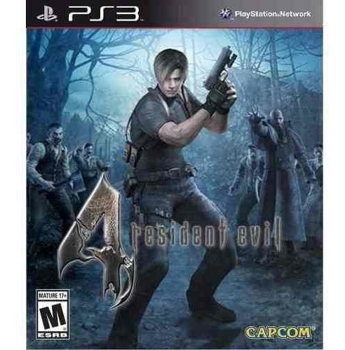 Resident Evil 4 Hd - Jogos Ps3 Playsation 3