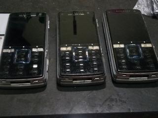 Lote 3 Celulares Sony Ericsson K850i Ler Descrição 6/19