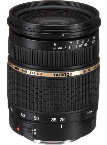 Lente Tamron Sp 28-75mm F/2.8 Xr Di Para Canon Ef