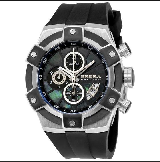 Relógio Brera Orologi Italiano 48 Mm Brssc4901 Preto
