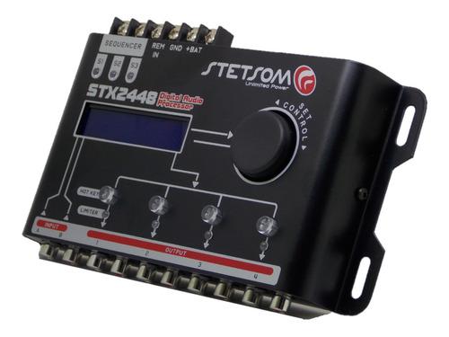 Processador Audio Stetsom Stx2448 Sequencer Digital 4 Canais