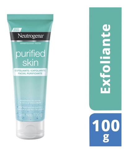 Exfoliante Facial Purified Skin Exceso Grasa 100g Neutrogena
