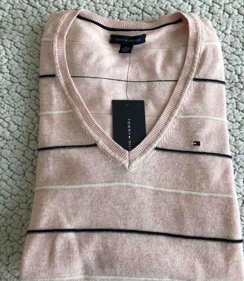 Sweater De Mujer Tommy Talla Xxs