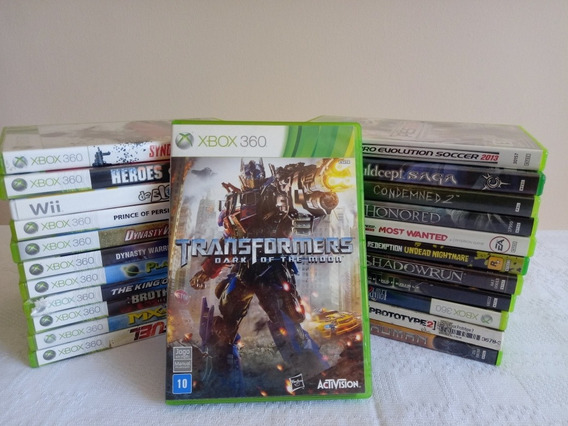 Transformers Dark Of The Moon Xbox 360