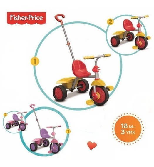 Andador Fisher Price Con Barral 2 Modelos Bunny Toys