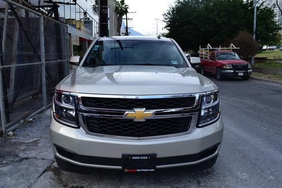 Chevrolet Suburban Lt Piel 2016