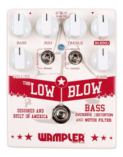 Pedal Bajo Wampler Low Blow Overdrive - Oddity