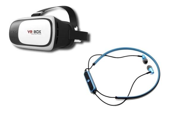 Kit Audifonos Jbl 780 Inalambrico Bluetooth + Lentes Vr Box