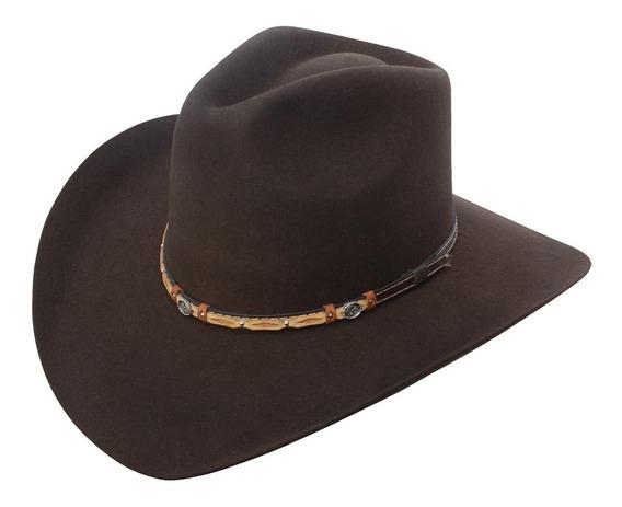 Sombrero Texana Goldstone Indiana Choco 100% Lana.