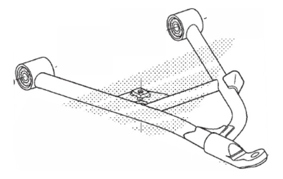 Bandeja Inferior Direita Quadriciclo Honda Trx 420 2014acima