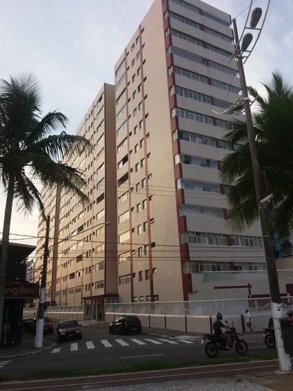 Apartamento Praia Grande Guilhermina,pé Na Areia Ref: C 7252