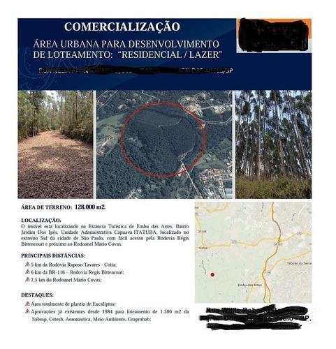 Terreno Para Venda, 0.0 M2, Itatuba - Embu - 2725