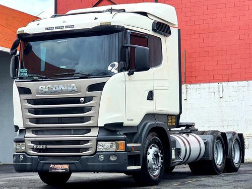 Scania R440 6x2 C/ Ar Condicionado Ñ É Iveco Stralis 400