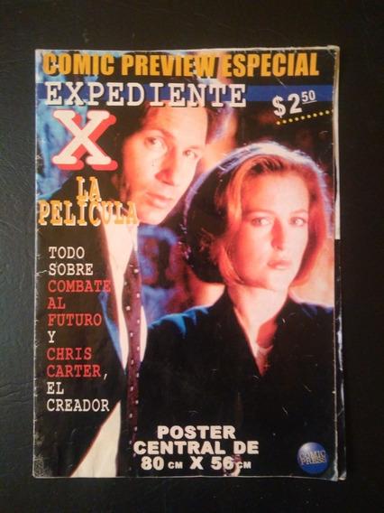 Revista Póster Expedientes X (x-files) Preview Película