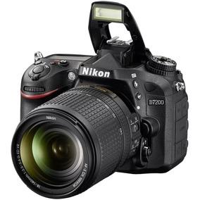 Nikon D7200+lente 18-140mm+cartão Memória+2 Baterias+bolsa