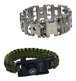 Braceletes Multi Função Avb Tb-035 E Paracord Apito Bpc9gwn