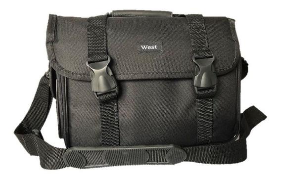 Bolsa Case Bag P/ Câmera Digital Fotografia Dslr Filmadoras