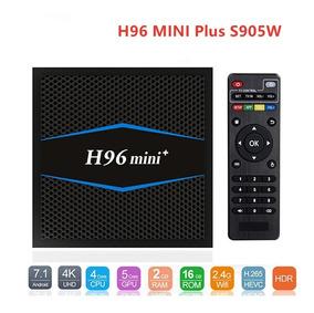 Tv Box H96 Mini Plus 2 Gb Ram/ 16 Gb Rom - Pronta Entrega